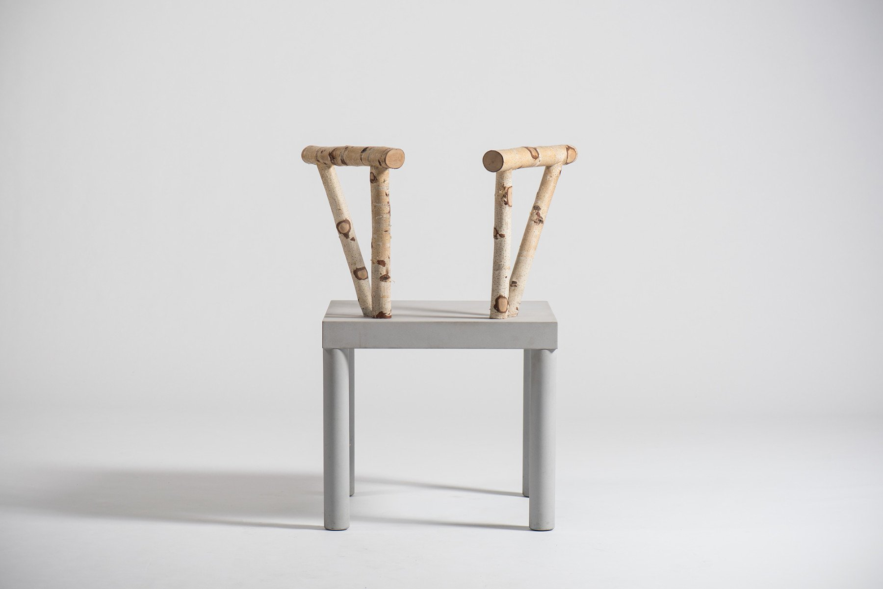 Italian designer Andrea Branzi - Domestic Animals chair 5 at art and design gallery Casati Gallery