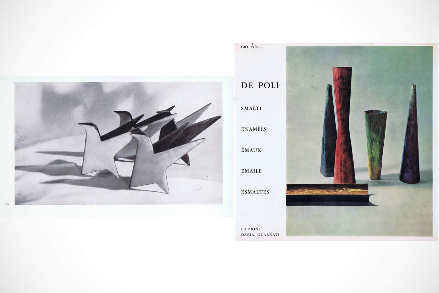 Gio Ponti and Paolo de Poli |   Uccello - (bird)