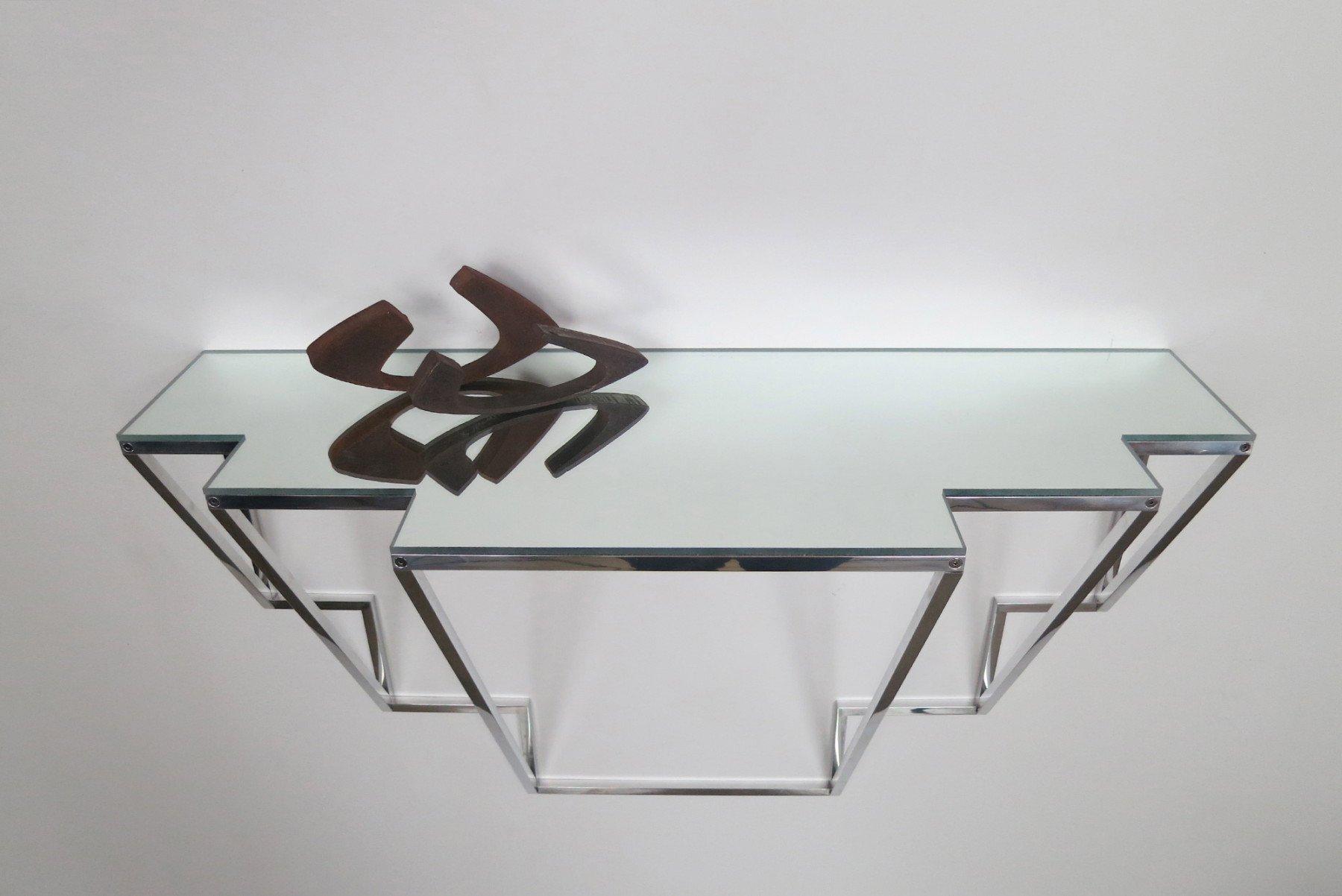 Jonathan Nesci |   Golden Variation - wall console