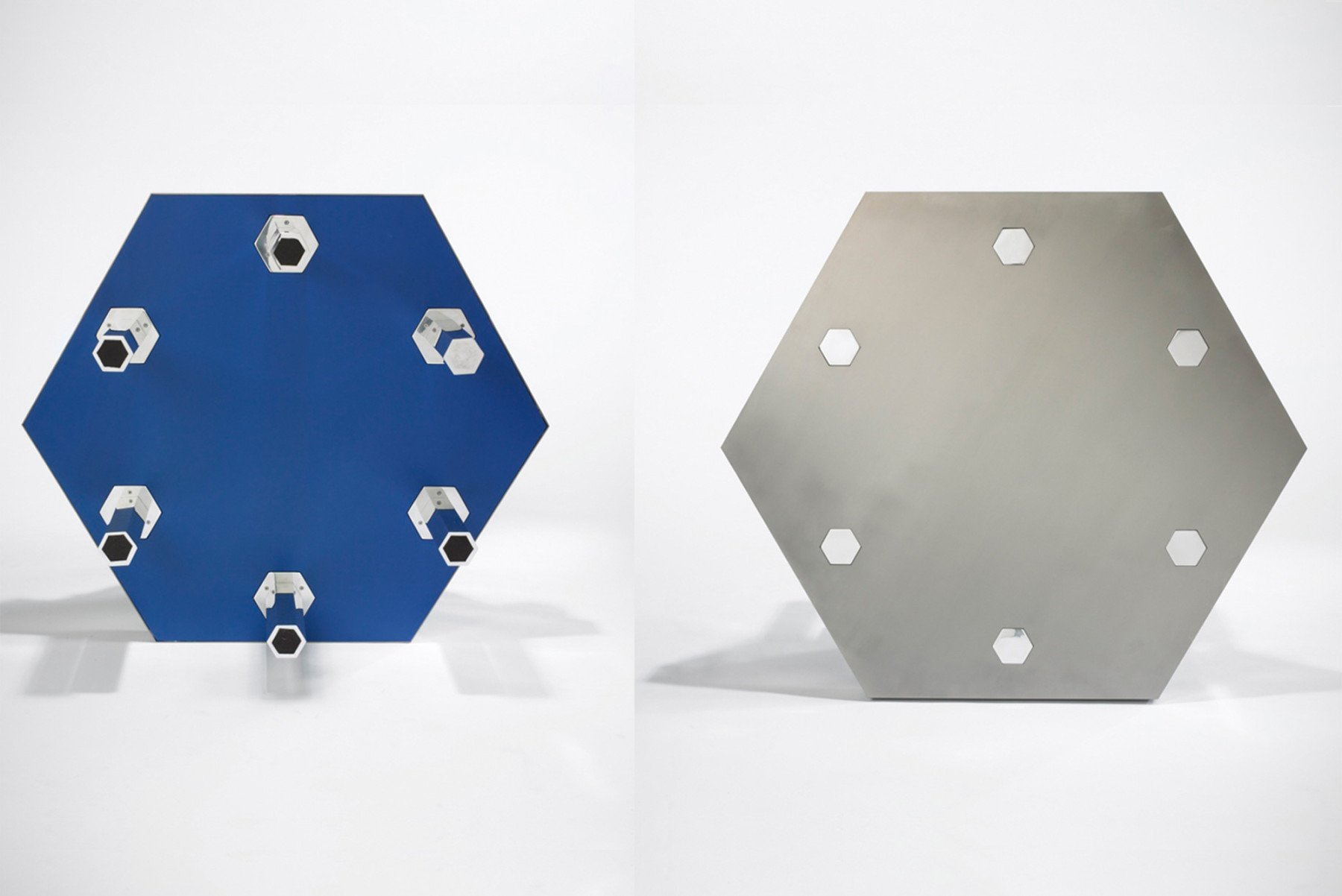 Jonathan Nesci |                              Titanium blue table