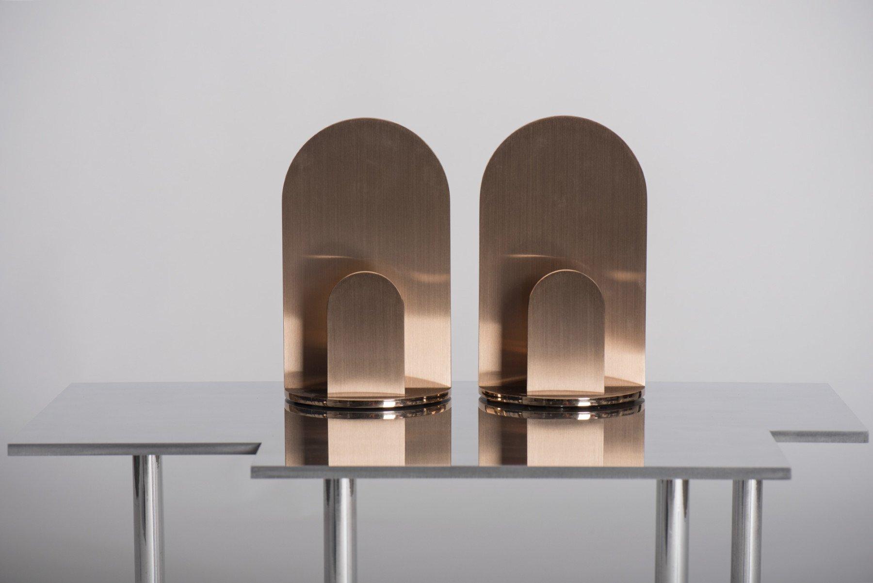 Jonathan Nesci |   Gae - bronze candle holder