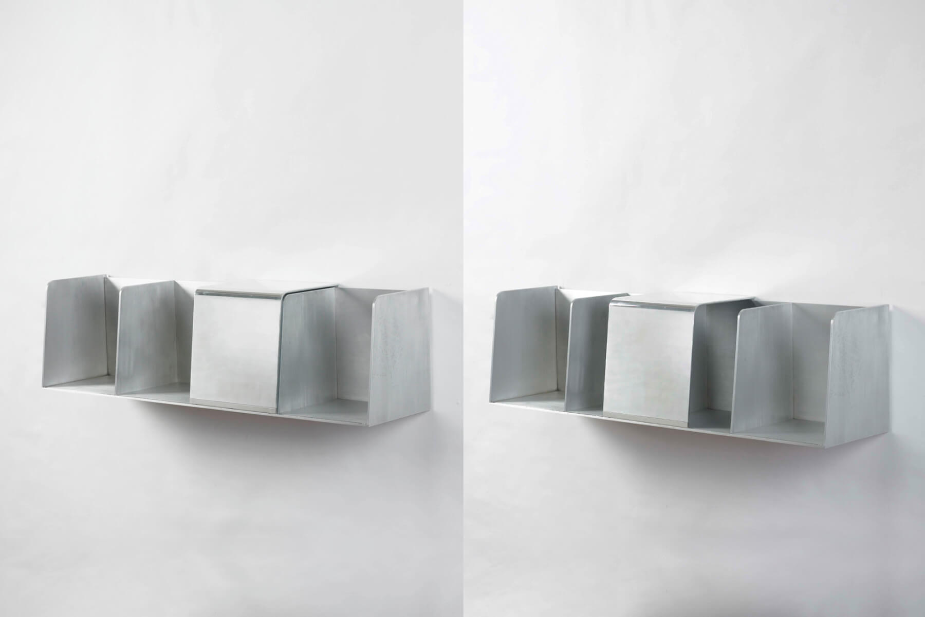 Jonathan Nesci |   Library bookcase with closed compartment