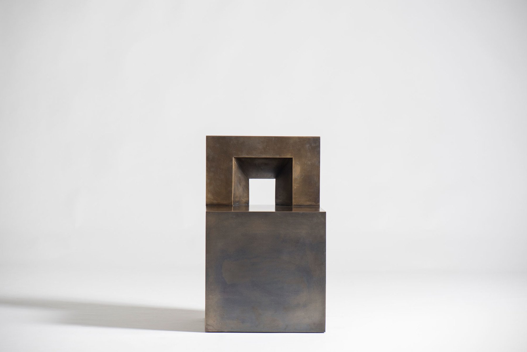 Jonathan Nesci |   GV - bronze chair