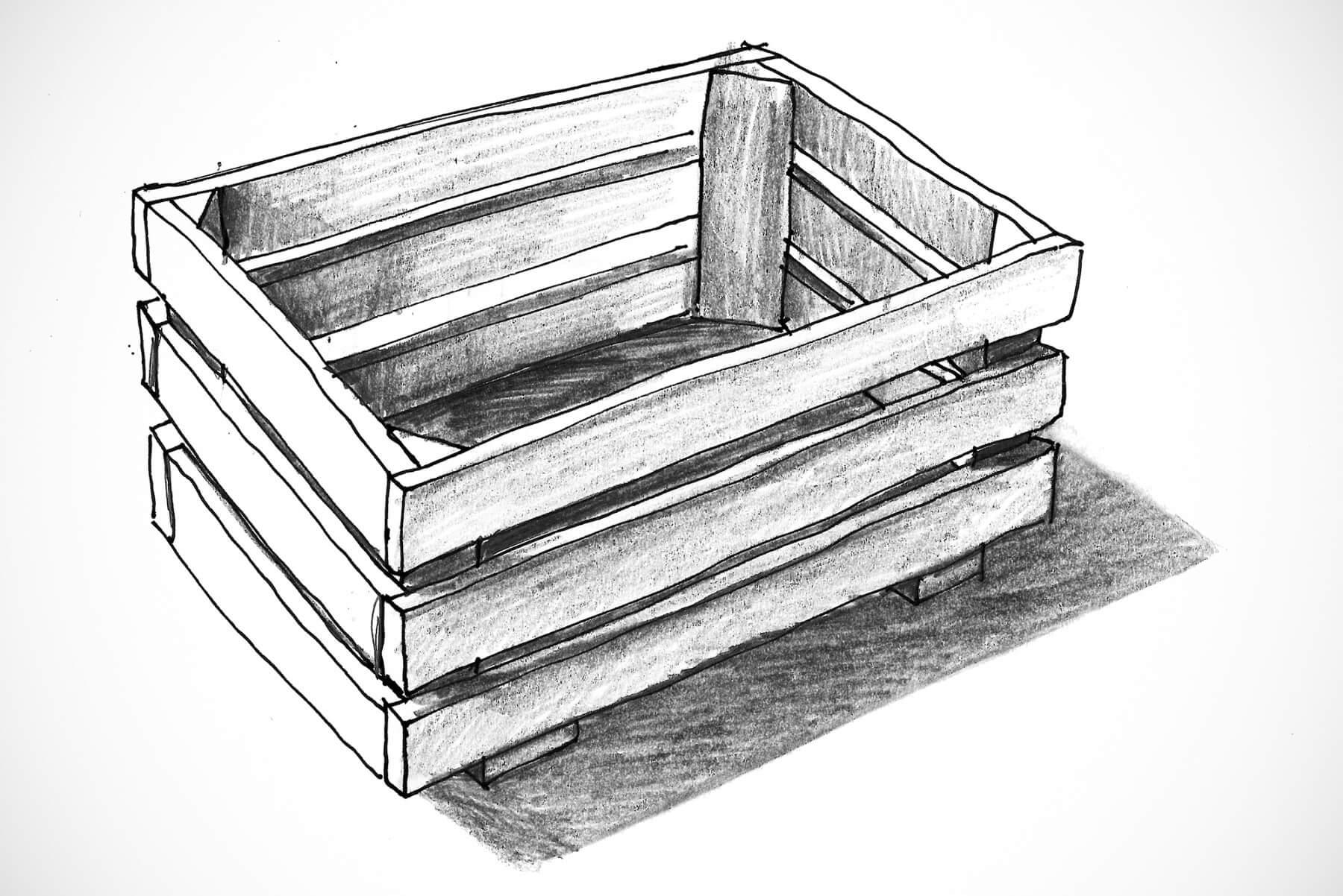 Philippe Nigro |   Market - Ebony fruit basket