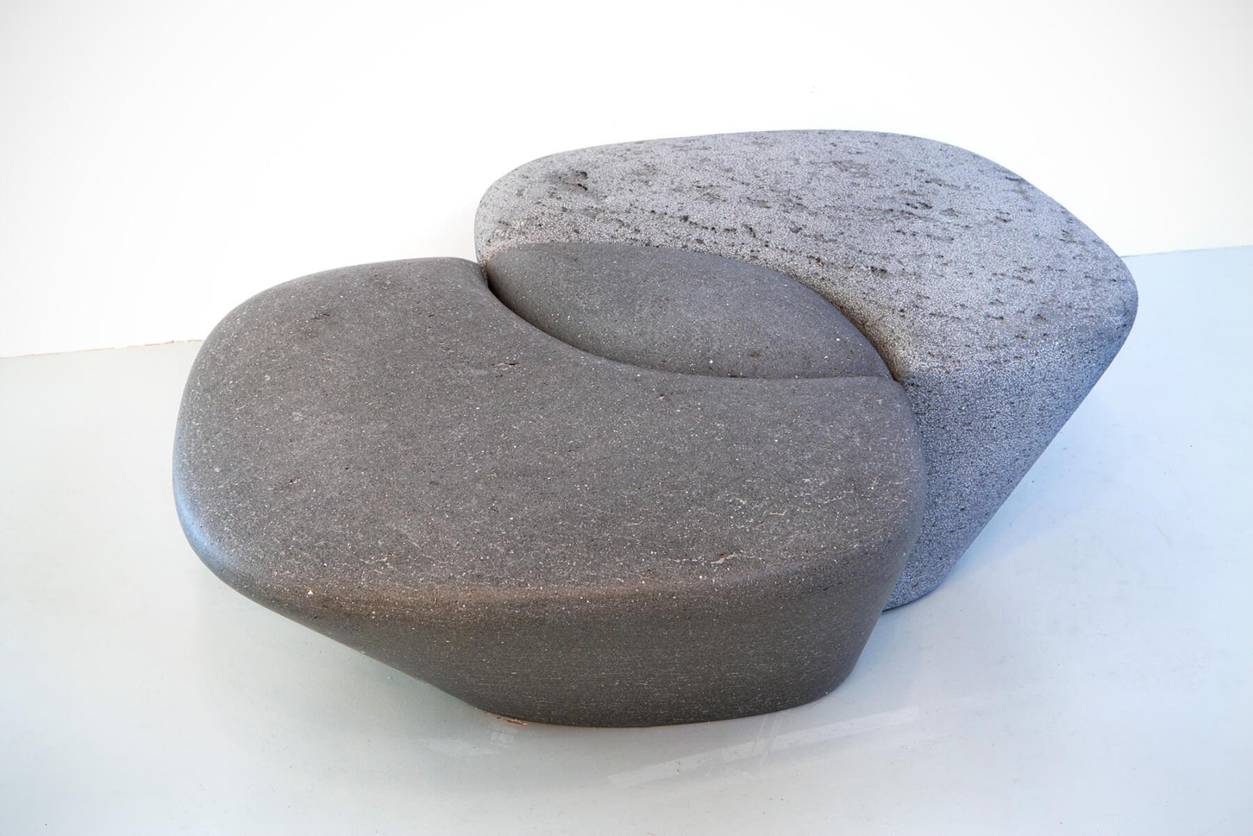 Philippe Nigro |   Métissage - stone bench