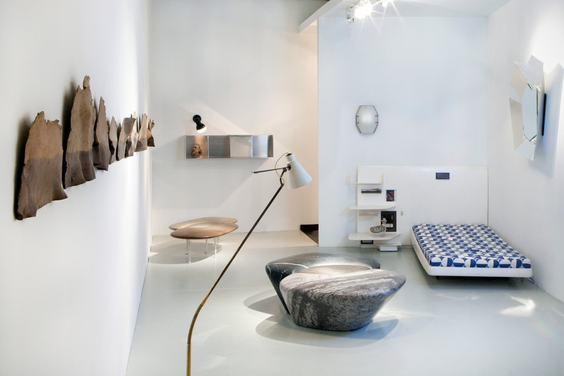 Philippe Nigro |   Métissage - marble bench