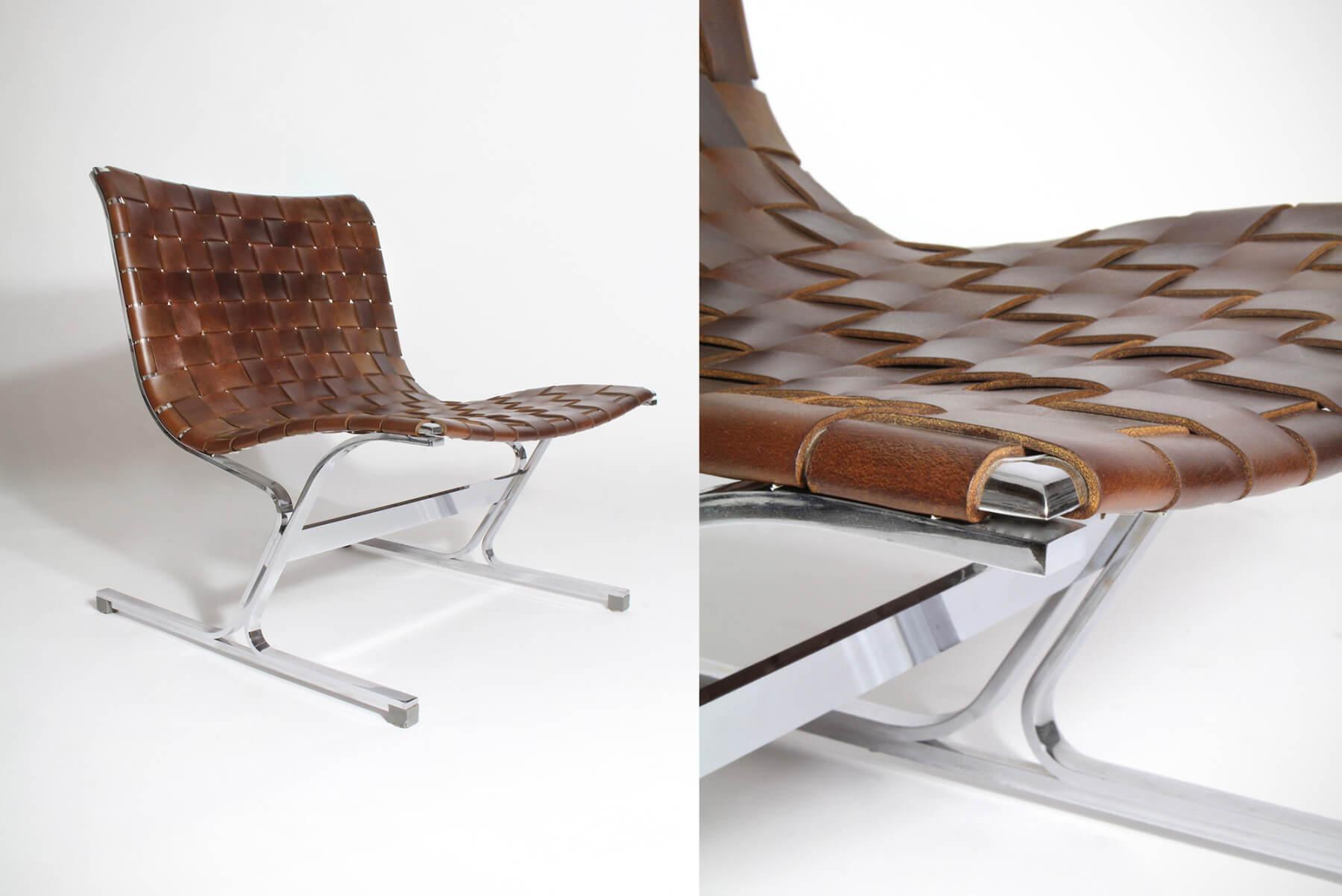Ross Littell |   PLR 1 lounge chair