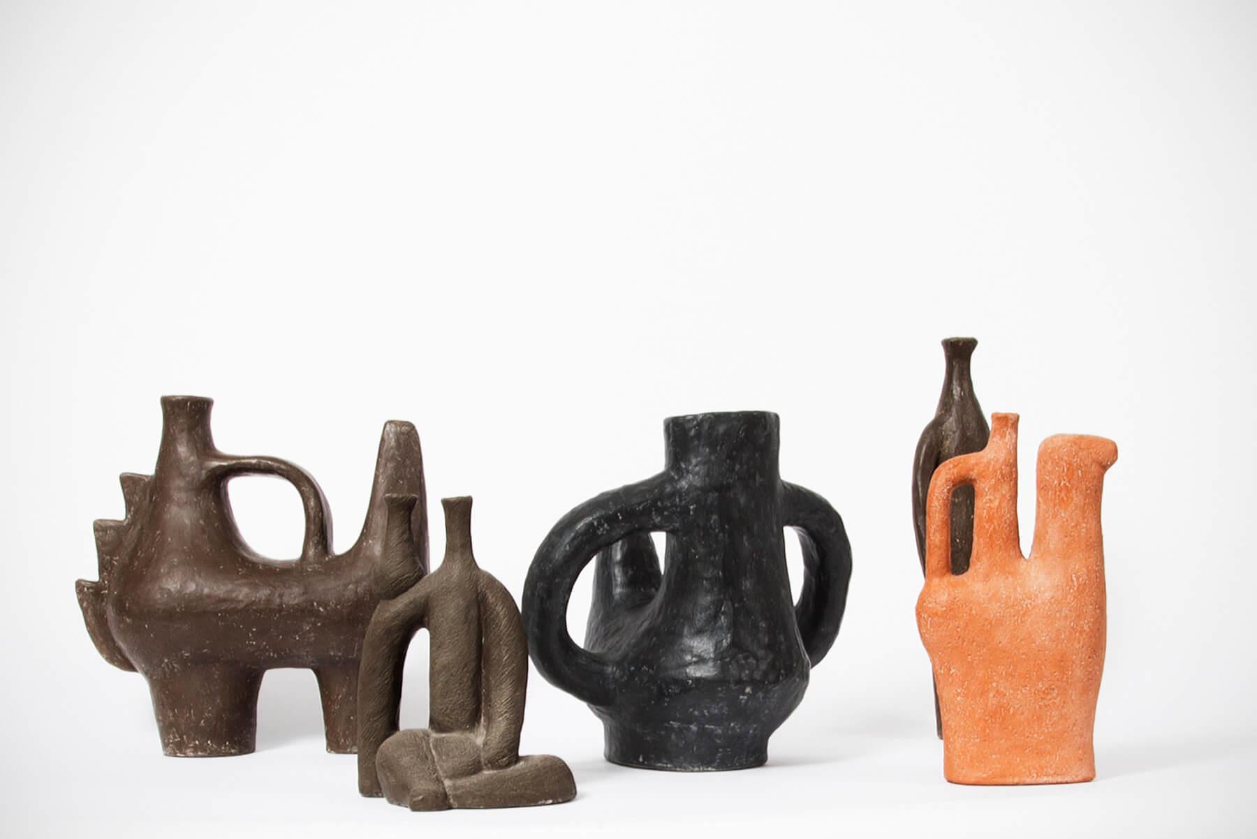 Salvatore Fiume |   Prehistorico - ceramic sculpture/vessel