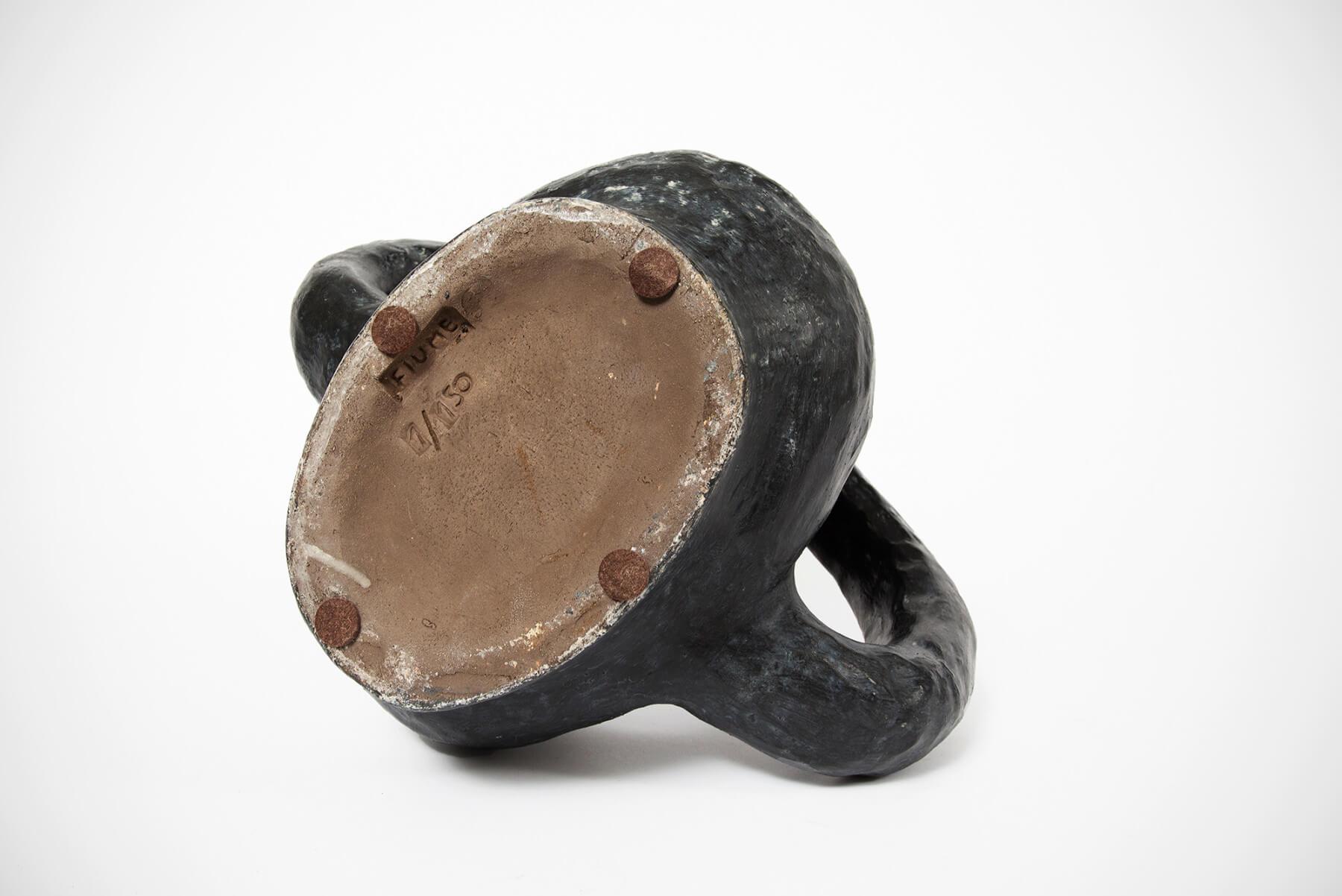 Salvatore Fiume     Gallo Impertinente - ceramic sculpture/vessel