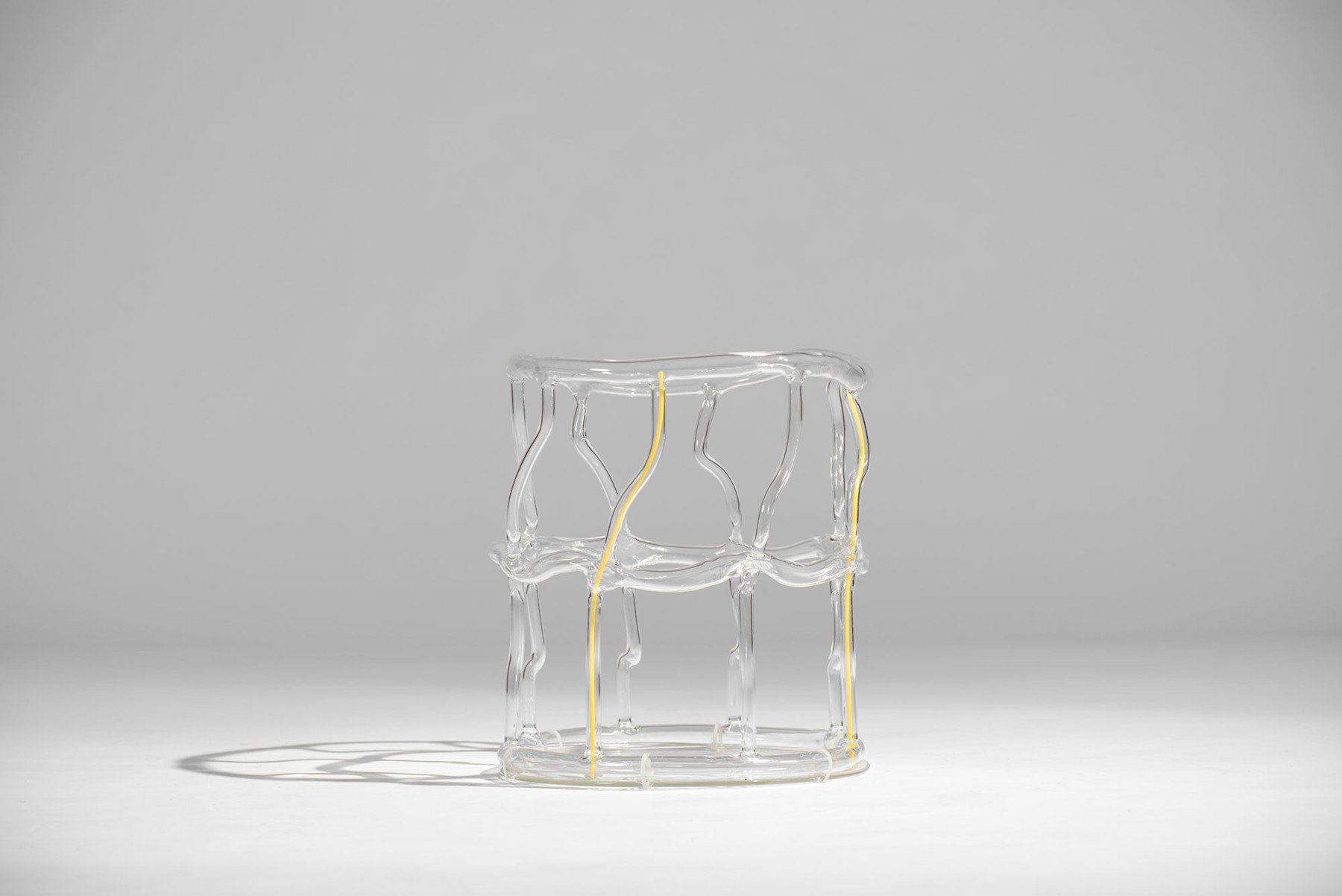 Andrea Branzi |   Glass baskets - set of five