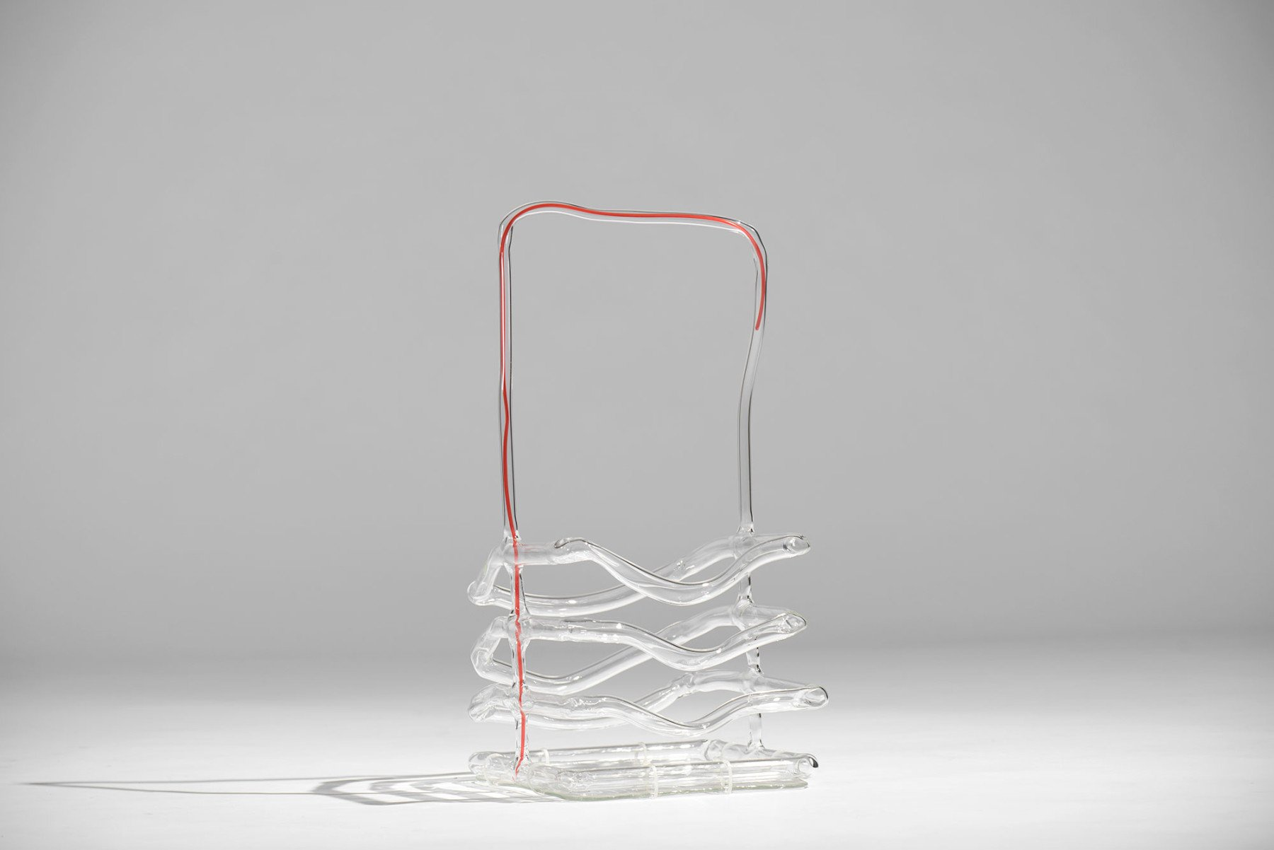 Andrea Branzi |   Glass baskets - set of five