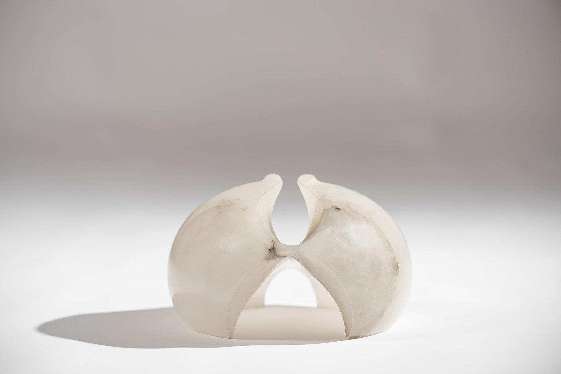Angelo Mangiarotti |   Alabaster sculpture