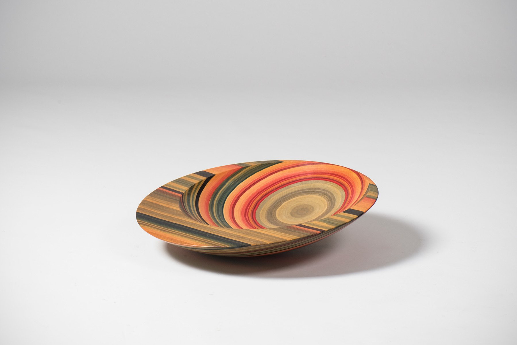 Angelo Mangiarotti |   Colorwood bowl