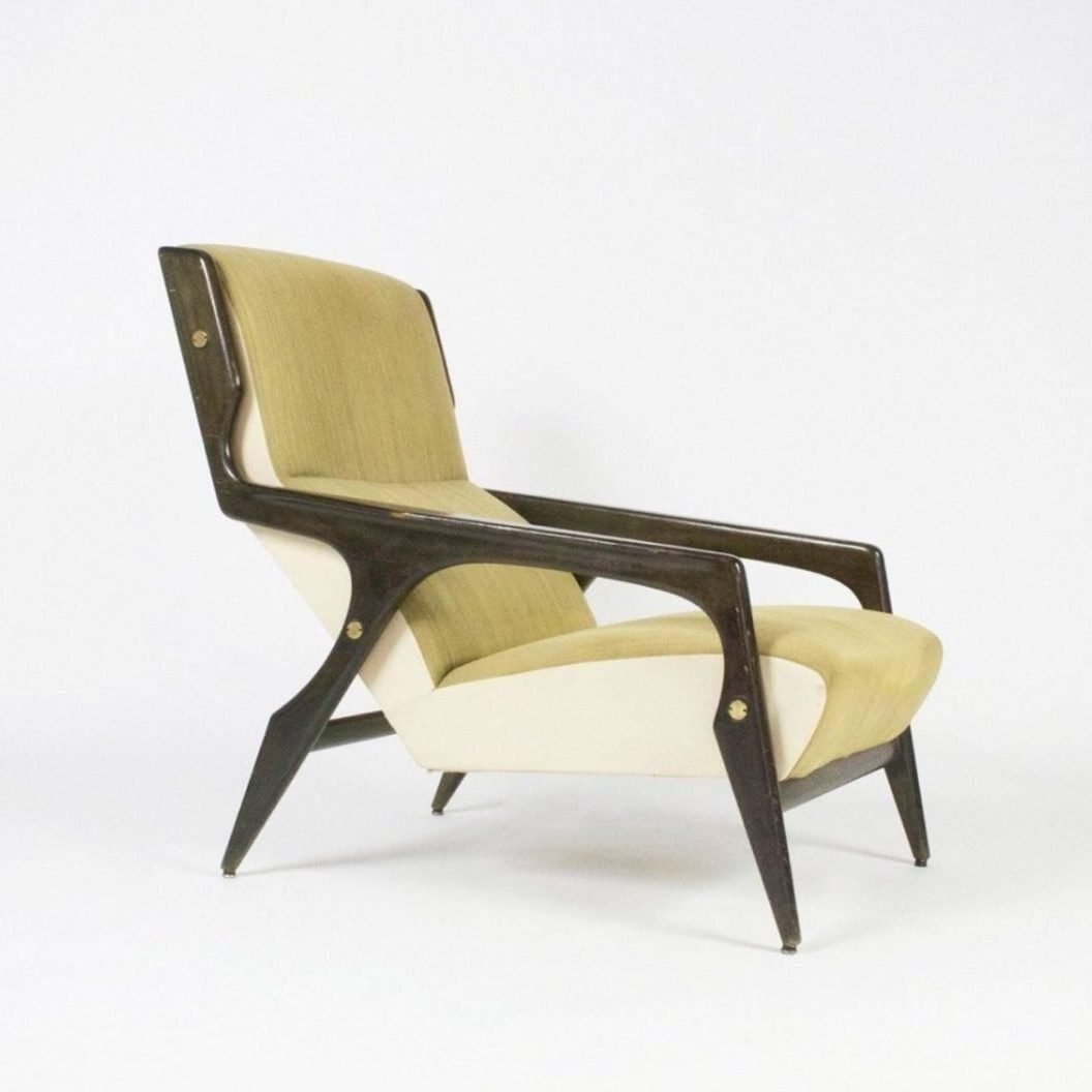 Armchair by Cassina designed by Italian designer Gio Ponti for the Parco dei Principi in Rome