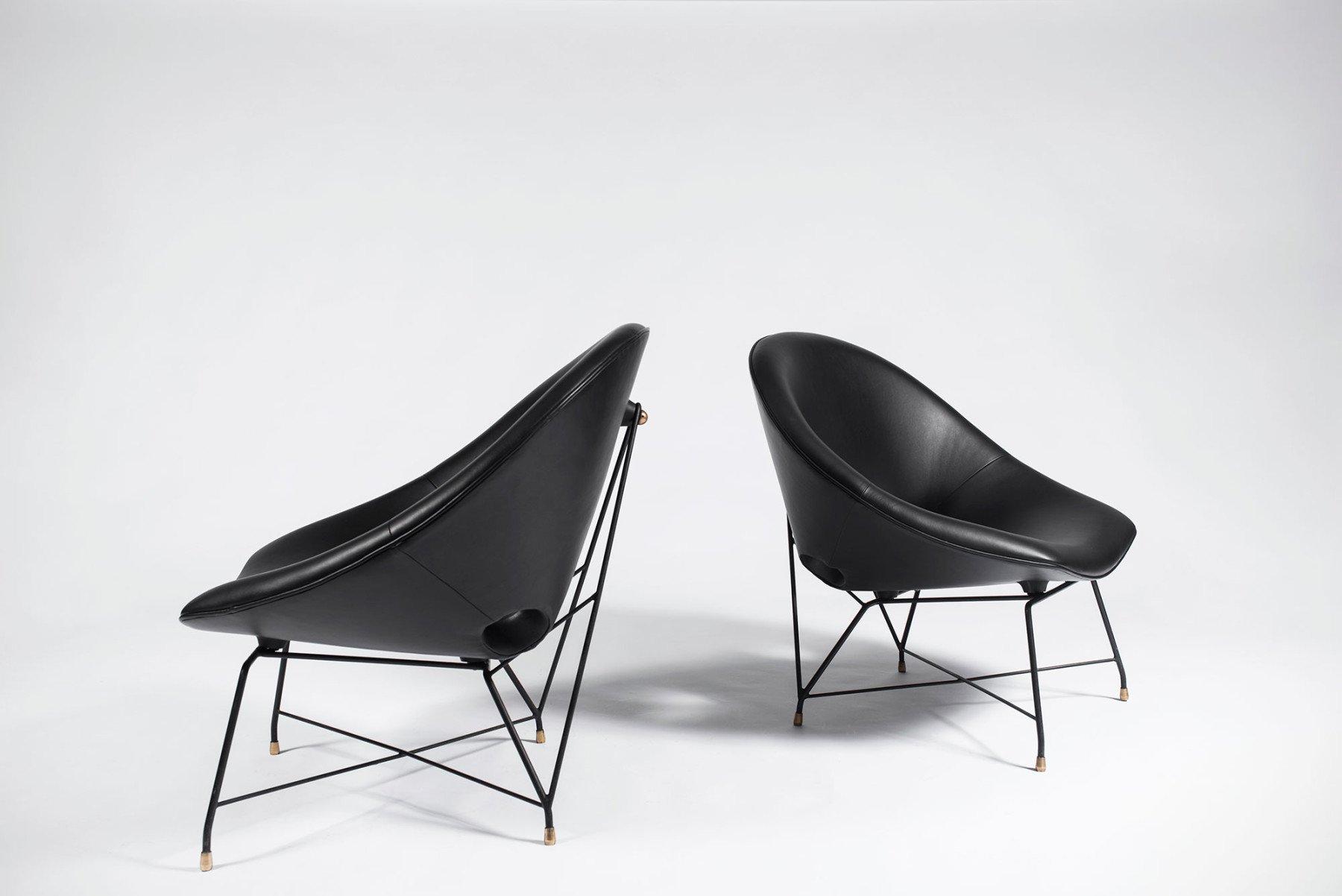 Augusto Bozzi |   Lounge chair - pair