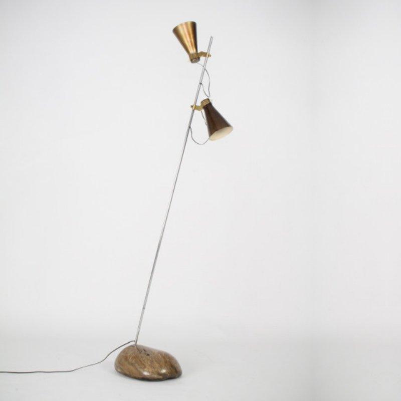 Azucena Sasso lamp designed by Luigi Caccia Dominioni for Azucena