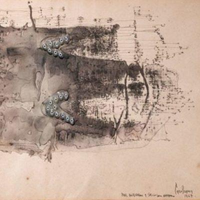 Bricolage by Italian artist Carol Rama