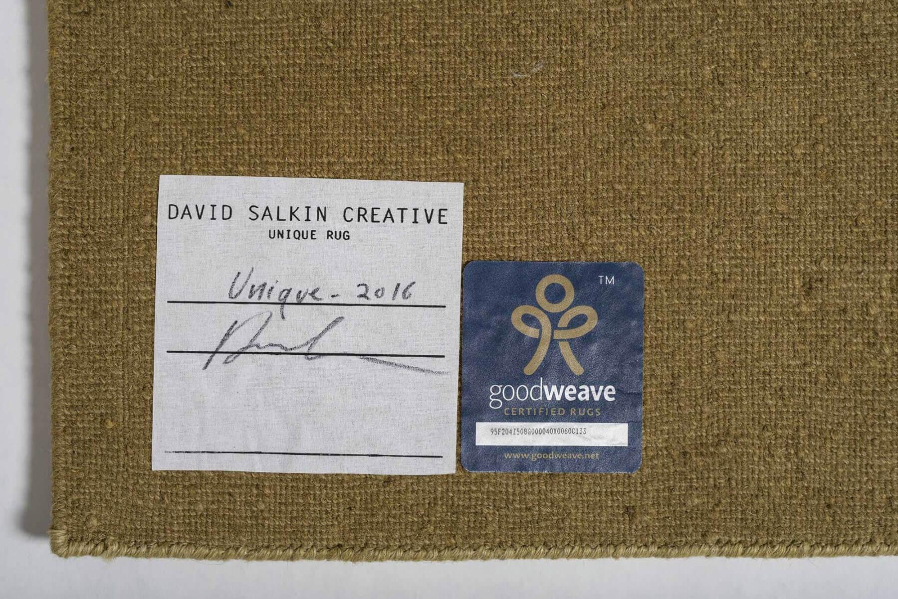 David Salkin |   Unique rug