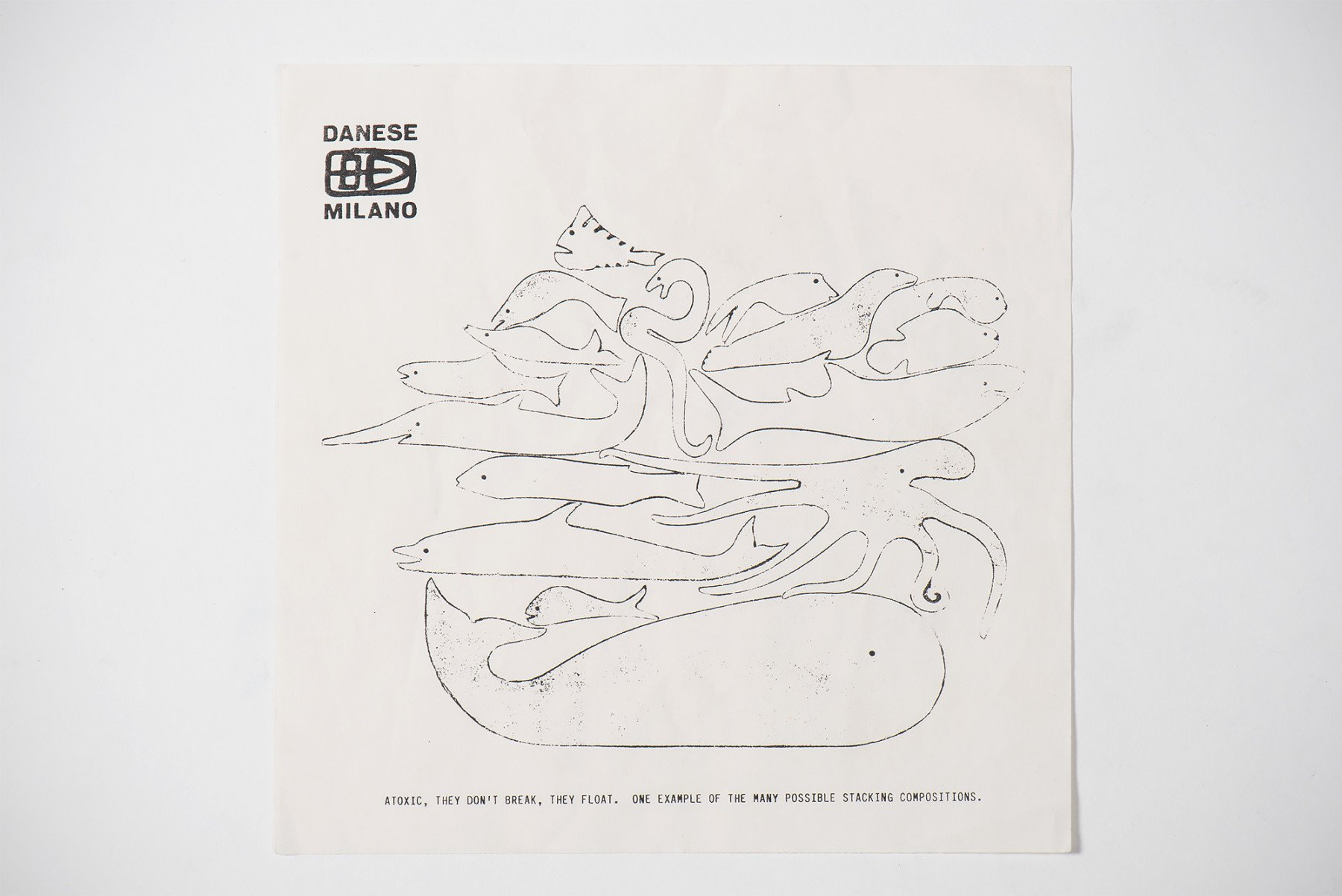 Enzo Mari |   Aquatic animals jigsaw puzzle