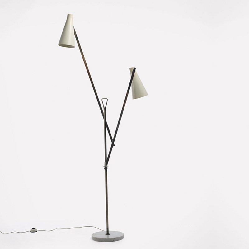 Italian designer Franco Buzzi at Italian design and furniture gallery Casati Gallery