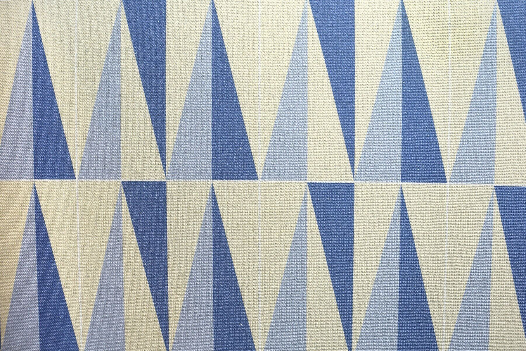 Italian designer Gio Ponti cristalli fabric pattern at design and art gallery Casati Gallery