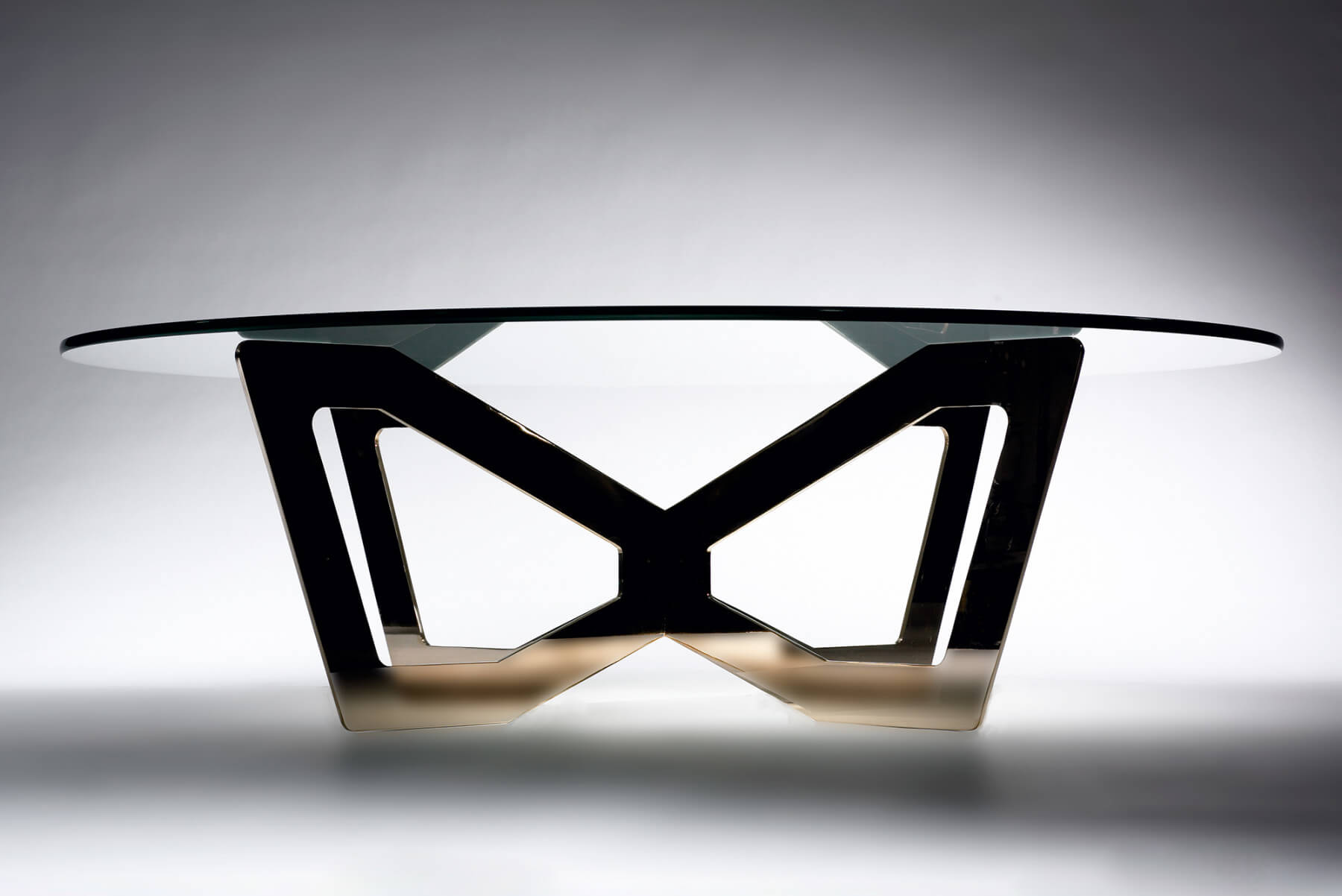 Jonathan Nesci |                              H1 - bronze table, round