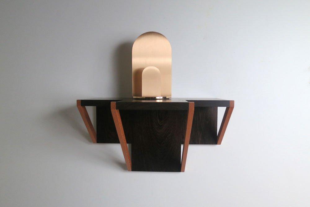Jonathan Nesci |   Golden variation shelf