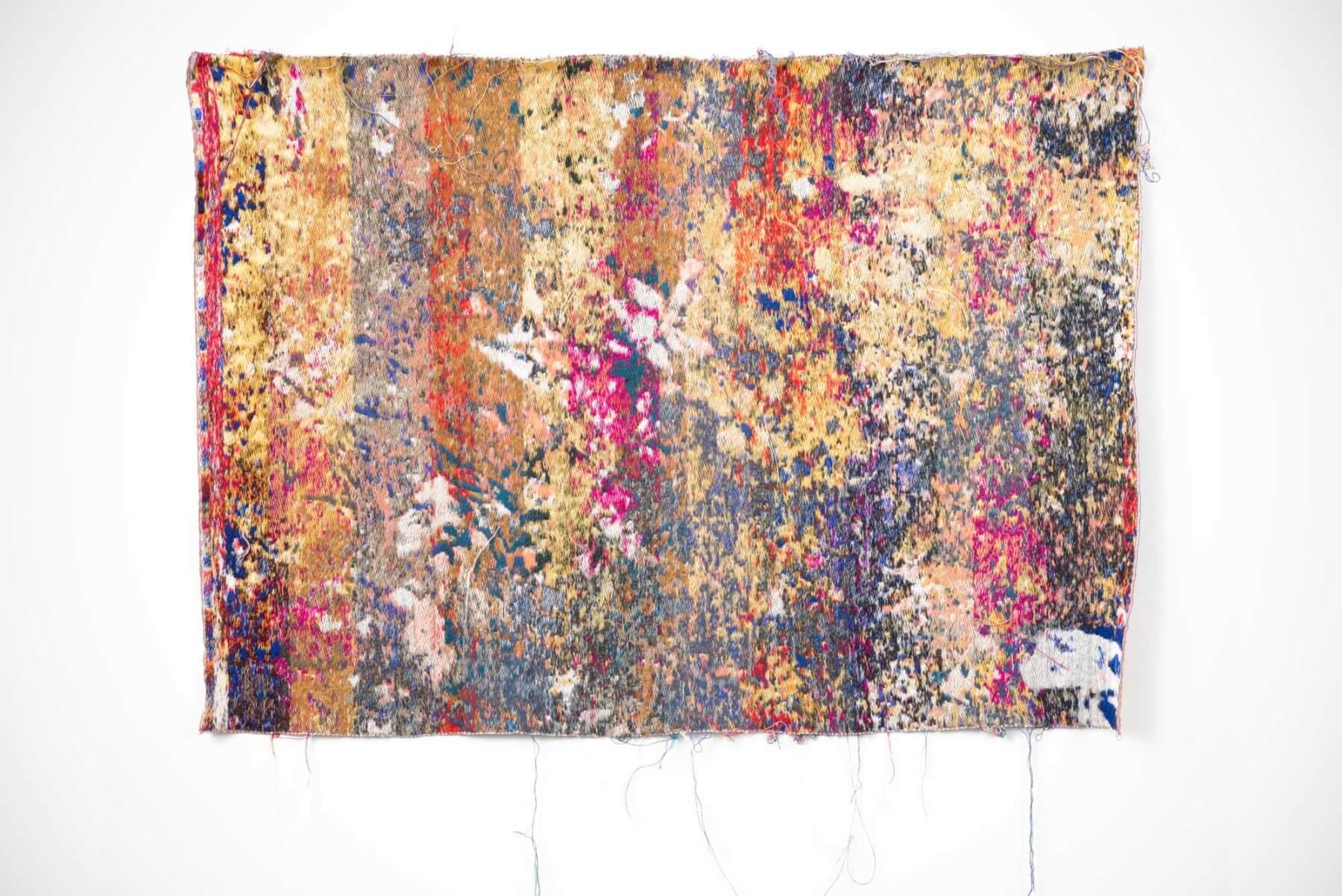 Postnatureflowermarket(trainingUnslktaid) - wall tapestry