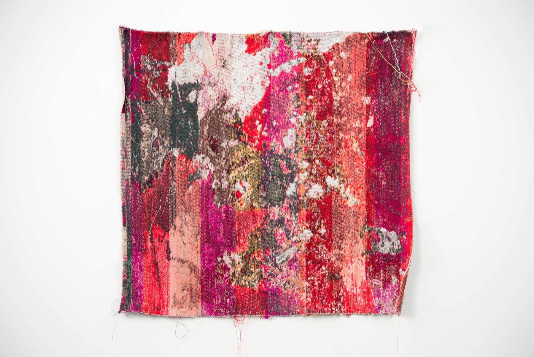 Red&whiteverechadpanhudaiondaahoneymoon - wall tapestry