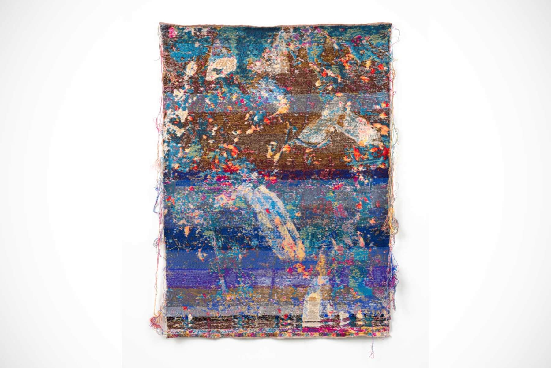 Laura Letinsky & John Paul Morabito |                              WordflowersphloraisAurHottir - wall tapestry