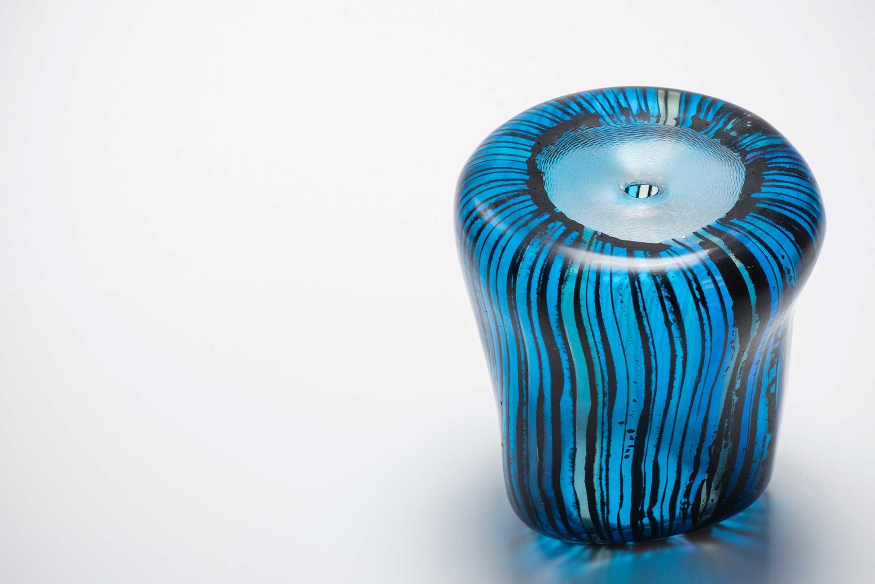 Michela Cattai     Canneto Screziati glass vase
