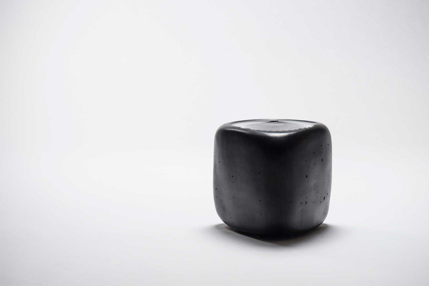 Michela Cattai |   Canneto Laguna - Inchiostro glass vases
