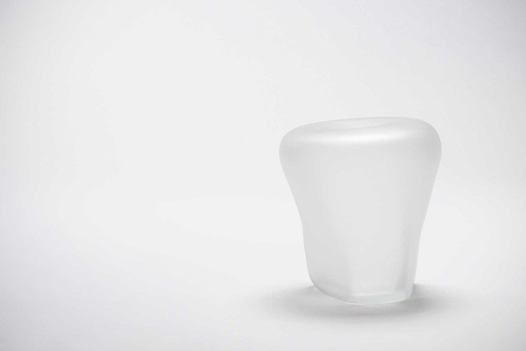 Michela Cattai |   Canneto Laguna - cristallo glass vases