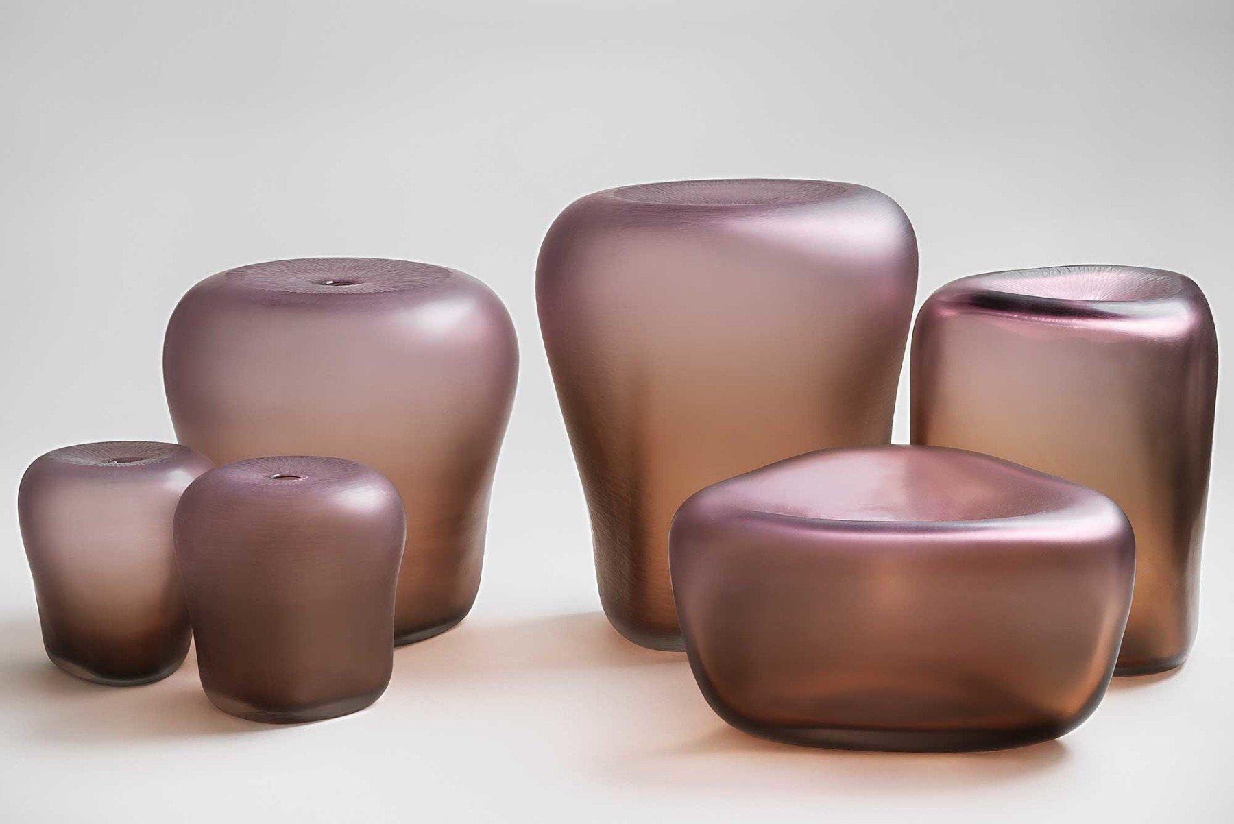 Michela Cattai     Canneto Laguna - Bronzo glass vases