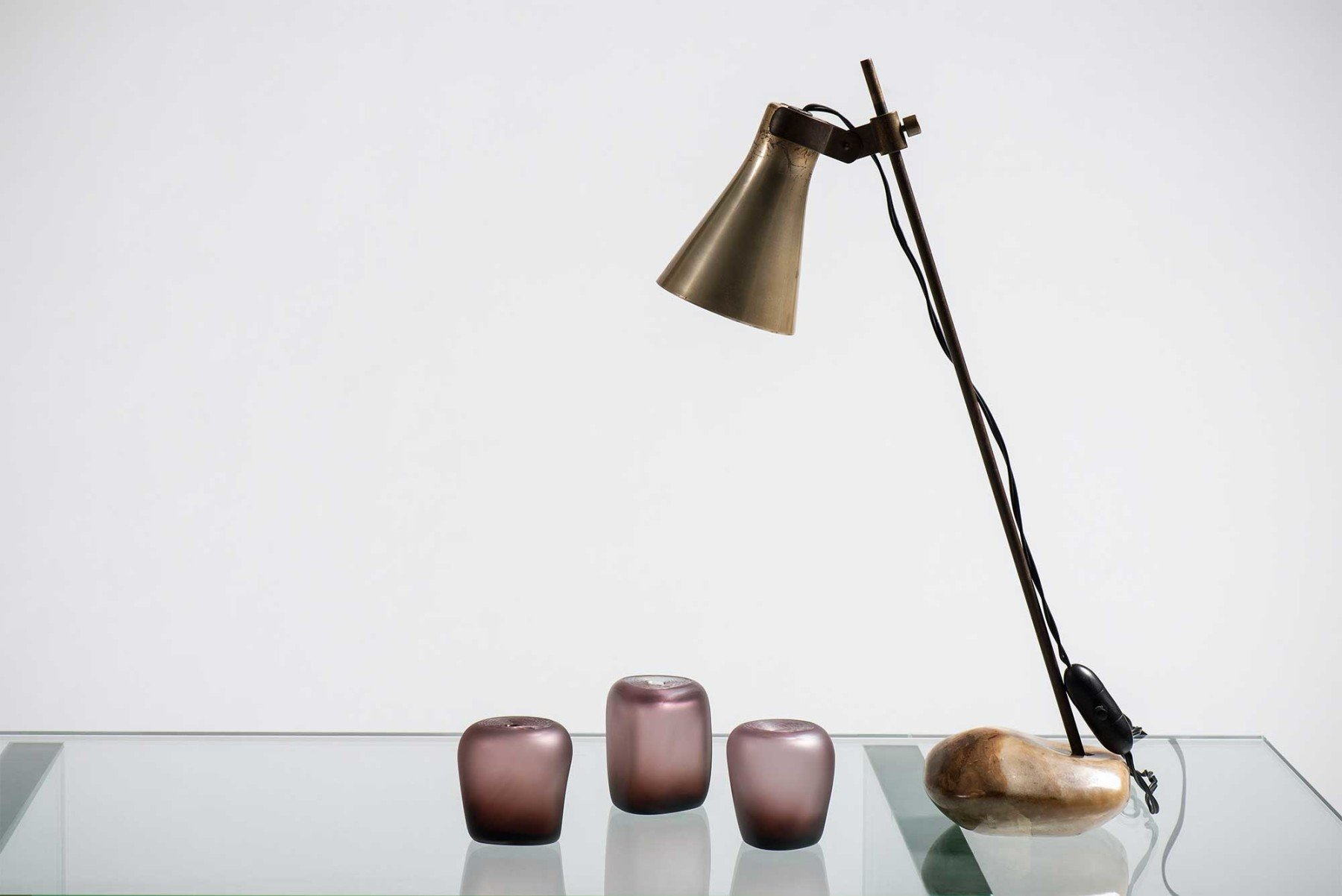 Michela Cattai  |   Small glass vases