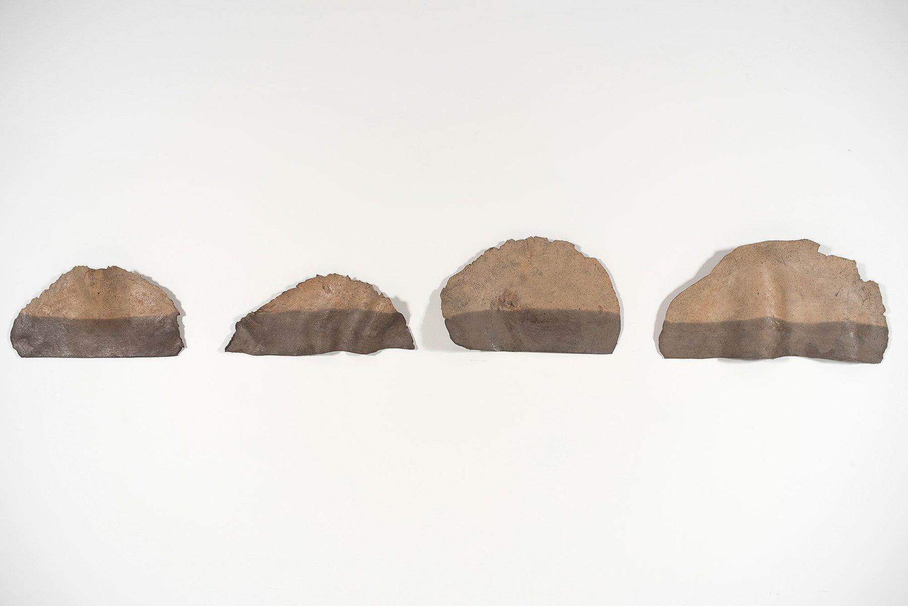 Nanni Valentini     La geometria del ceramista - ceramic wall art