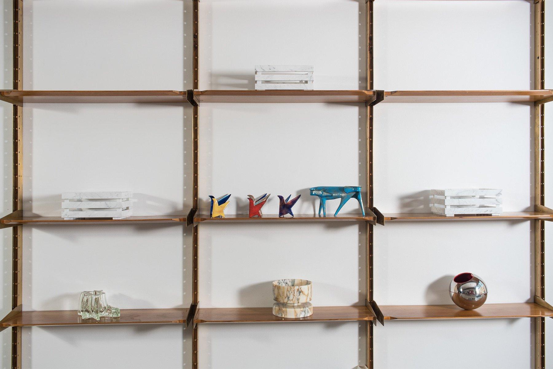 Pierluigi Spadolini |   Modular Shelving System/bookcase - Attributed to Pierluigi Spadolini