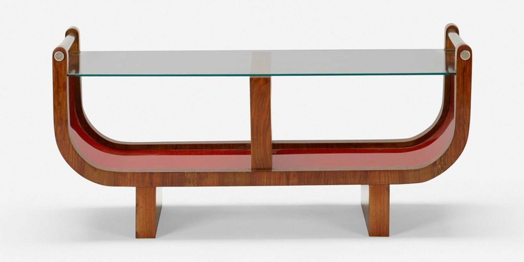 Italian art and design gallery Casati Gallery Gio Ponti table