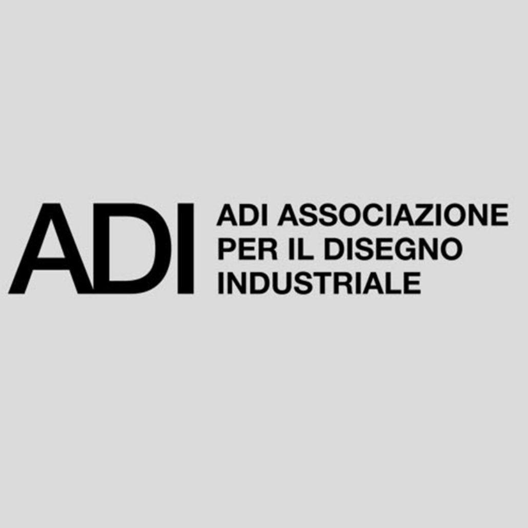 Logo of the Associazione per il Disegno Industriale (ADI) - )Association for Industrial Design)