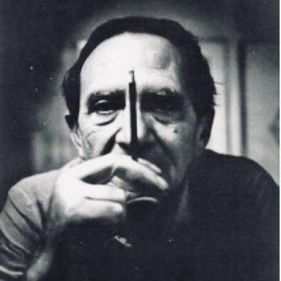 Portrait of Italian architect and designer Ico Parisi