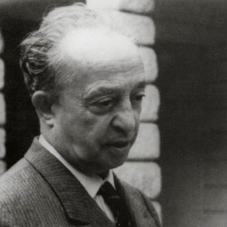 Portrait of Italian designer Tomaso Buzzi