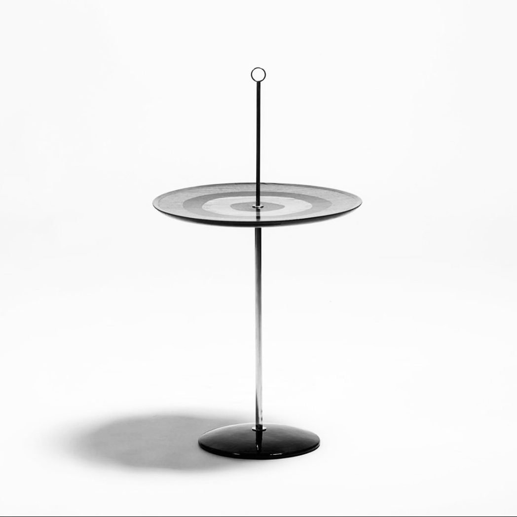 Occasional wood and metal table designed by Nino Zoncada