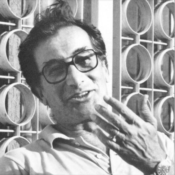 Portrait of Italian designer and architect Paolo Tilche