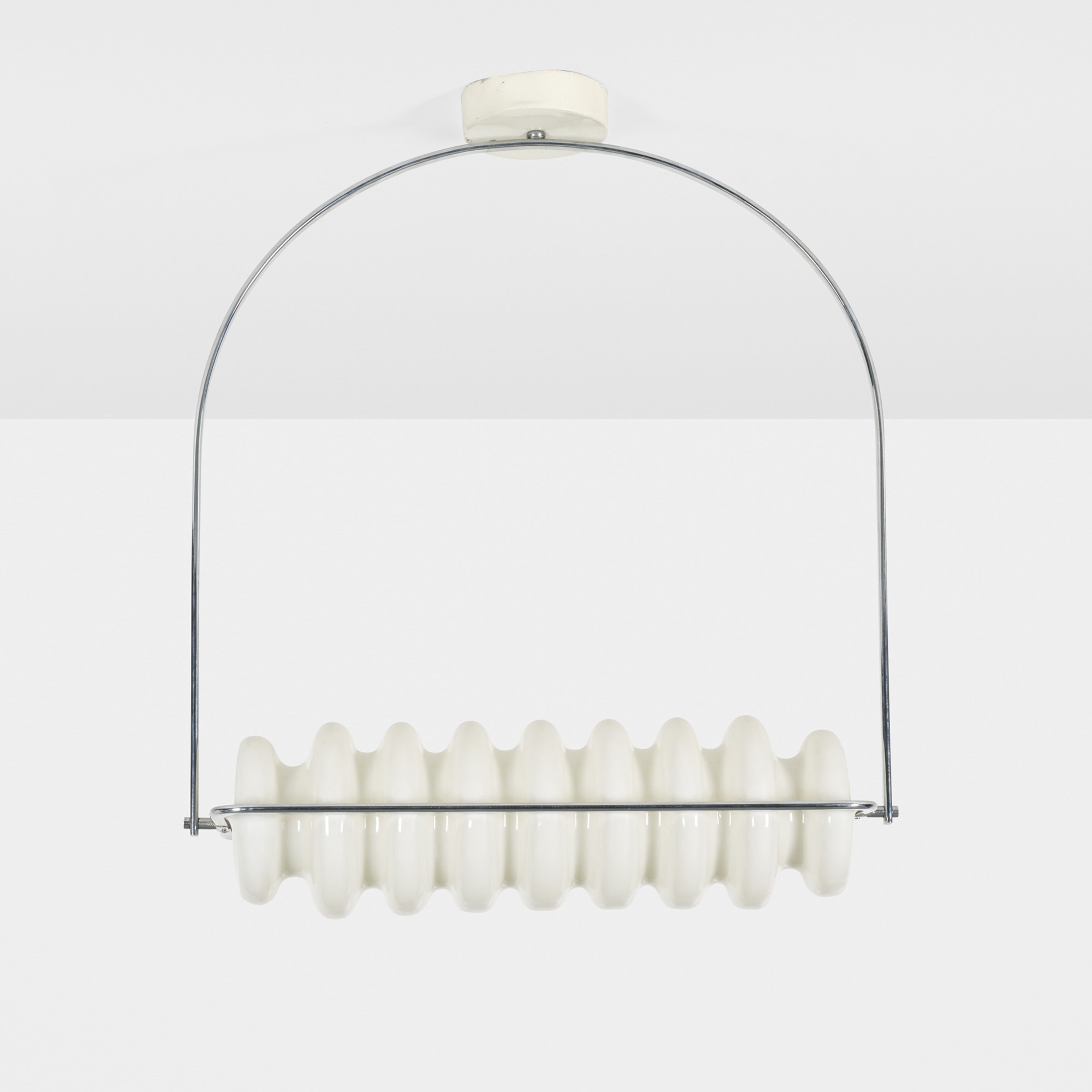 Poltronova Bruco ceiling lamp by Ettore Sottsass
