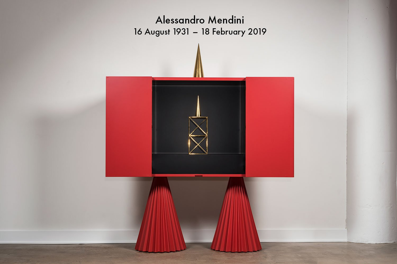 Italian architect and designer Alessandro Mendini