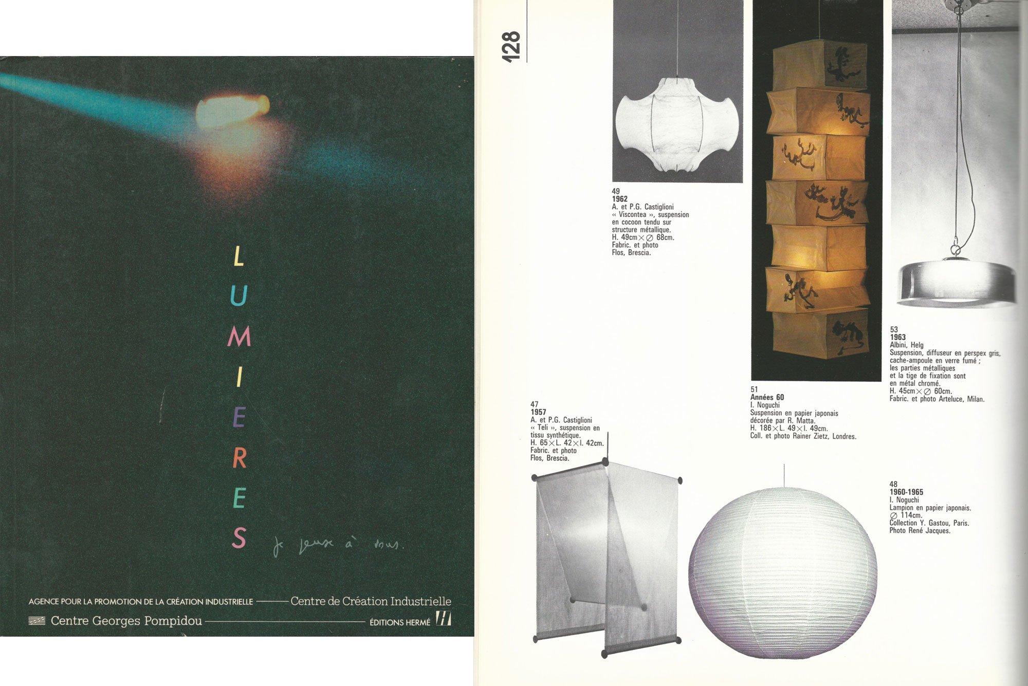 Franco Albini and Franca Helg |   Ceiling light model 2050