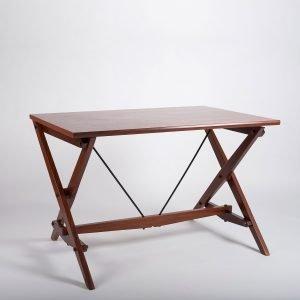 Italian designer Franco Albini desk manufactured by Poggi at design and furniture gallery Casati Gallery (square)