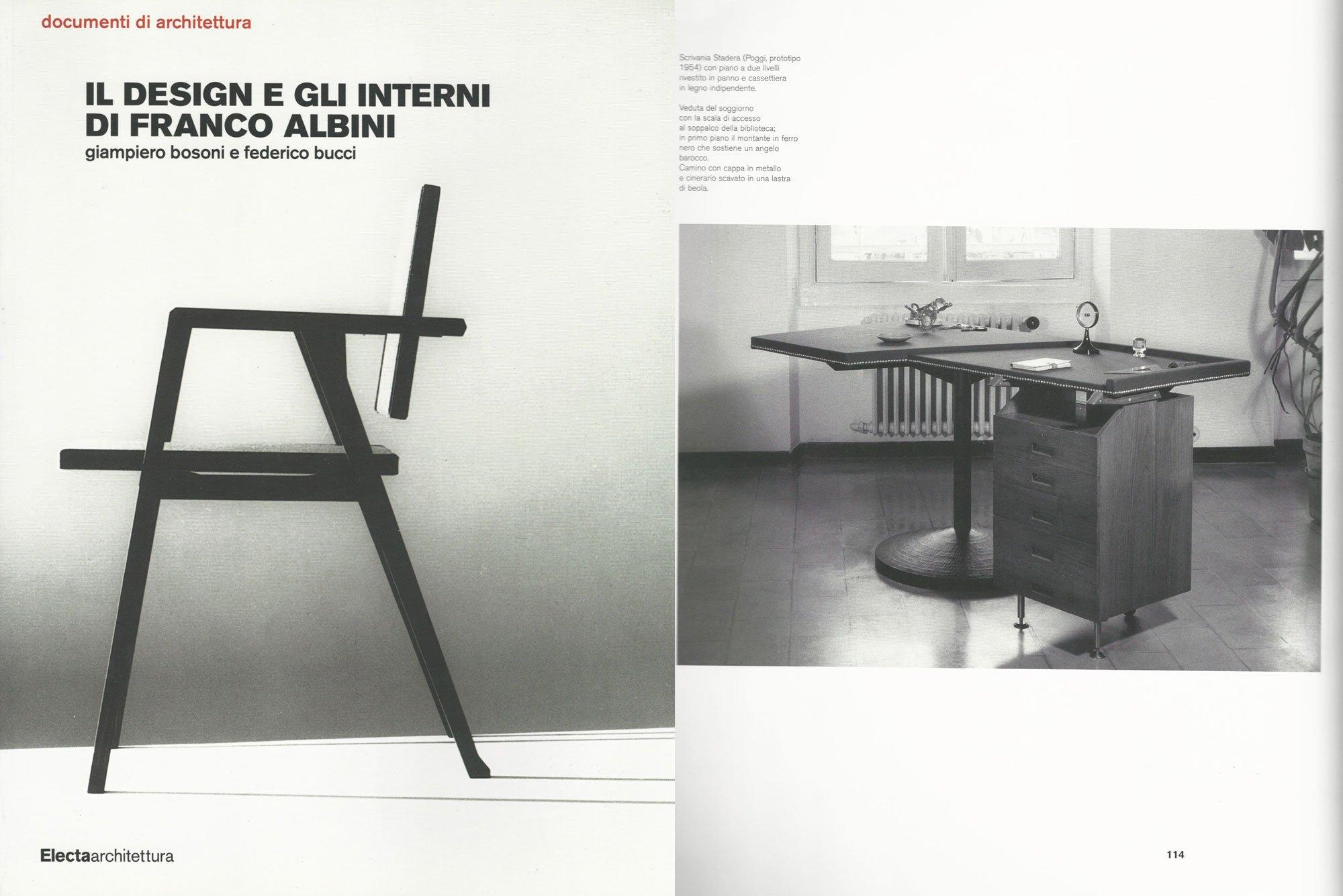 Franco Albini |   Stadera SC27- desk