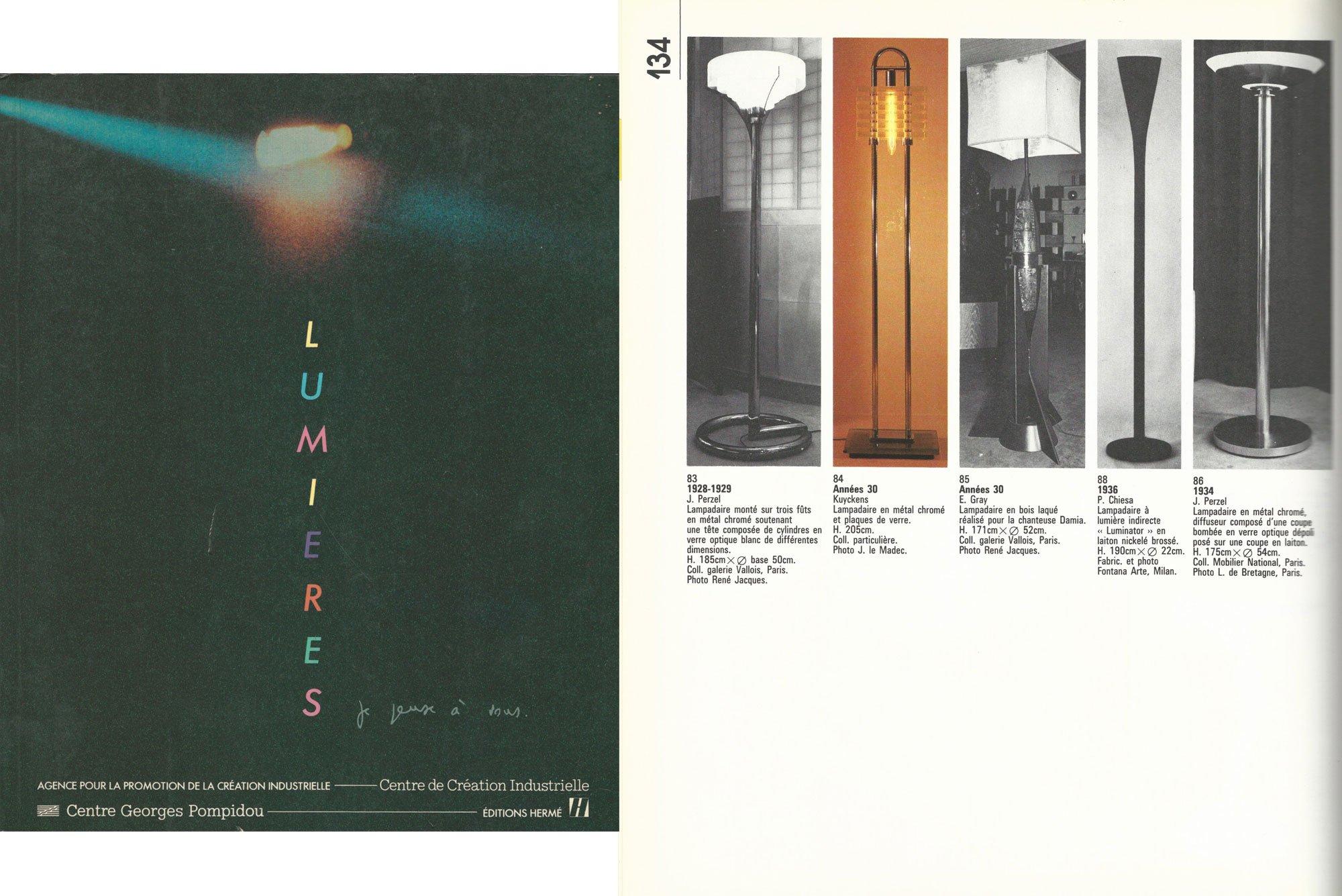 Pietro Chiesa |   Luminator - floor light