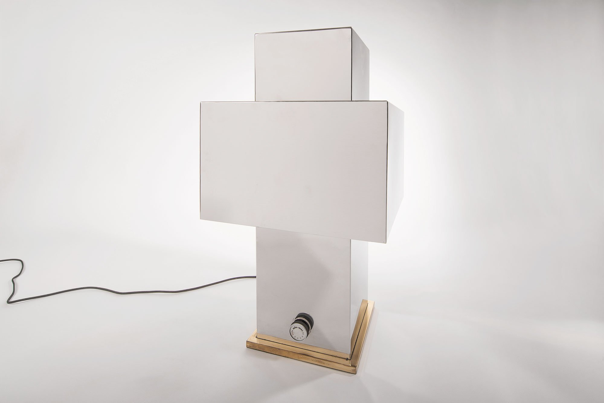 Love table lamp - square